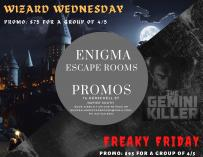 Escape Room Wizard Wednesday & Freaky Friday Napier South (4110) Indoor Play Centers _small