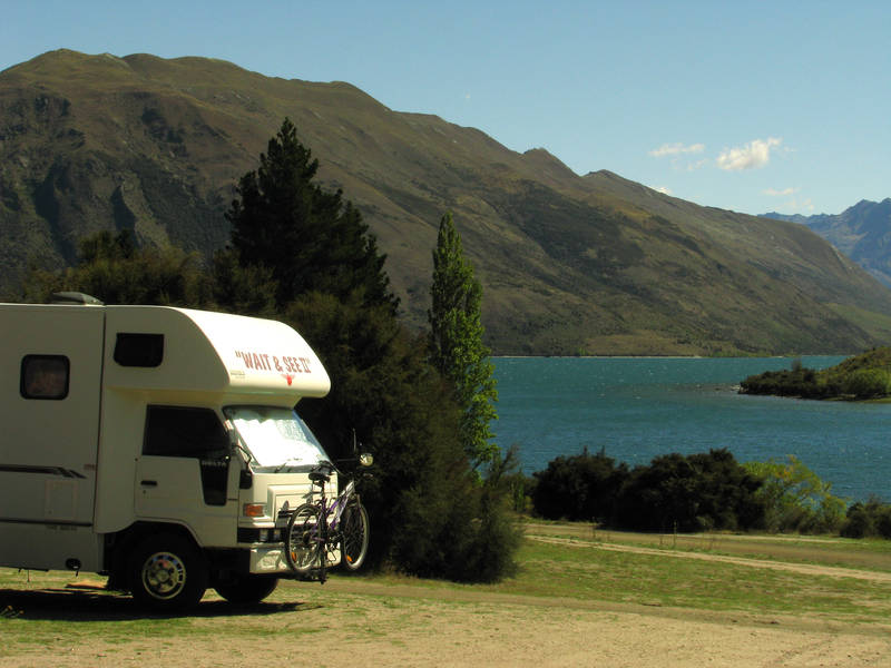 Campervans in Nature