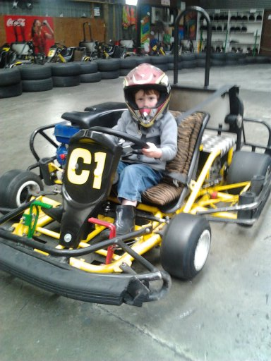 Kadet Karts available for children 6 years and over