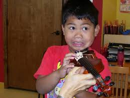 Violin Playing must be fun for everybody ...